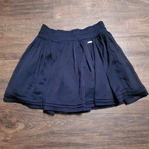 Hollister Navy Skirt XS